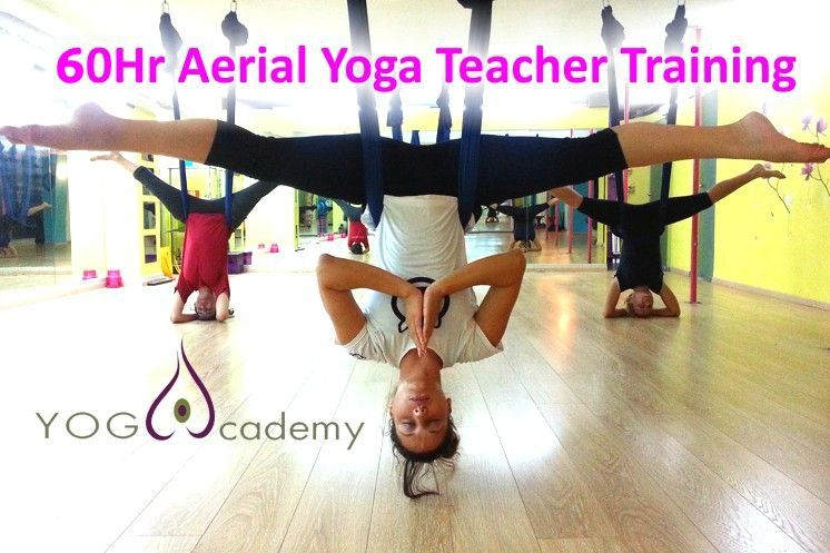 60Hr Aerial Yoga Teacher Training CE Yoga Alliance